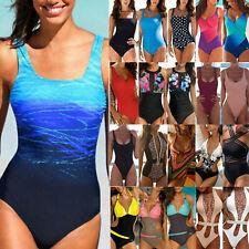 Womens One-Piece Swimwear Beach Holiday Monokini Swimsuit Bikini Bathing Suit
