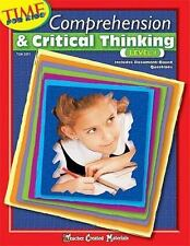 Comprehension & Critical Thinking Level 1 (Time for Kids (Teacher Created Materi