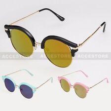 f6c231f536 Round Mirrored Sunglasses for Women