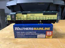 Walthers Ho Emd Sd60 CNW Dcc Sound