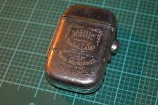 Vintage OCT.29 1889's KOOPMANS MAGIC POCKET LAMP  LIGHTER RARE #1957