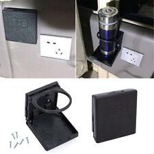 2tlg Schwarz Kunststoff Becherhalter Universal für Auto Küche Wohnmobil Caravan