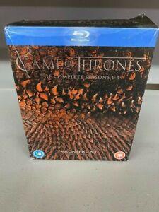 Complete Seasons 1-4 Game of Thrones DVD Box Set TV Show Binge watch Blu-ray