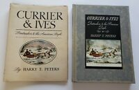 DUST COVER CURRIER & IVES BOOK 1942 PRINTMAKERS TO THE AMERICAN PEOPLE