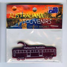 Melbourne Tram Magnet, Red, Bottle Opener from Australia