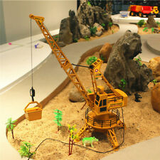 DIY Electric Tower Crane Remote Control Engineering Vehicle Toy Set Kid Gifts US