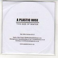 (EN425) A Plastic Rose, This Side Of Winter - 2013 DJ CD