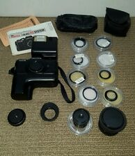 Pentax Auto 110 Camera Kit with Flash, Winder, Filters and Two Lenses