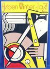 """Vintage Original Aspen Winter Jazz 67 Roy Lichtenstein Poster 40.5"""" x 26.5"""""""