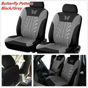 4Pcs Universal Car Front Seat Cover Protector Cushion For Interior Accessories