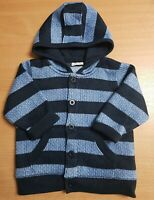 NEXT Blue Jumper Thick Fluffy 9-12 Months Baby Cardigan Boys