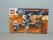 9488 Jambes Personnage LEGO STAR WARS minifig legs Elite Clone Trooper 74457