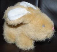 "Bunny Rabbit Commonwealth Brown Easter Plush Toy Stuffed Animal 5"" Vintage 1994"