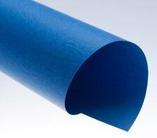 Rückwände, ledergenarbt blau, DIN A4, 250g/qm, VE mit 100 Stück