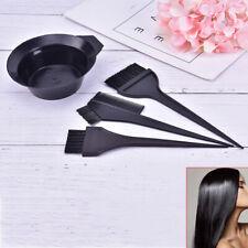 Hair Color Dye Bowl Comb Brushes Tool Kit Set Tint Coloring Dye Bowl Comb BruQA