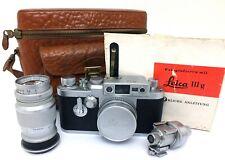 ✮ Leica IIIg #892424 mit 2 Objektiven, Zubehör und Anleitung // vom Händler!