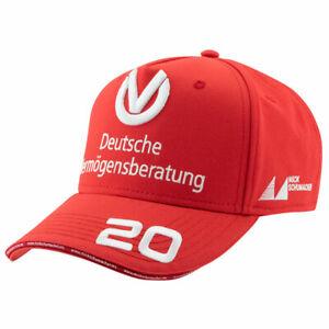 Mick Schumacher Cap World Champion 2020 Red