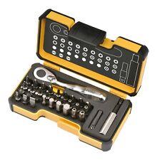 FELO XS 33pcs. Pocket Size Hand Tools Set, Bits + Mini Ratchet, Made in Germany
