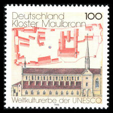 Germany 1998 - Cultural Inheritance by UNESCO Architecture - Sc 1987 MNH