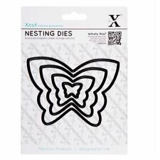 Docrafts X-Cut Dies - Butterflies 4 Pieces Die Cutting Papercrafting
