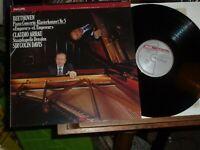 CLAUDIO ARRAU - BEETHOVEN piano concerto no.5 PHILIPS digital LP NM