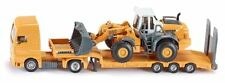 SIKU 1839 1:87 Scale Low Loader and Four Wheel Loader New Boxed