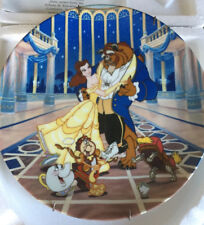 "Disney's Beauty and the Beast Collectors Plate ""Loves First Dance� Bradford Exch"