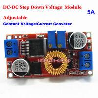 5A DC-DC 0.8-30V 5V 12V Constant Current Voltage Regulator Buck Step Down Module