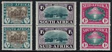 South Africa (BRITISH) 1939 Sct #B9-#B11, S/G #82-#84, M/H  COMPLETE PAIRS SET