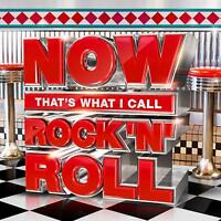 NOW THATS WHAT I CALL ROCK 'N' ROLL (Various Artists) (Best Of) 3 CD SET (2018)
