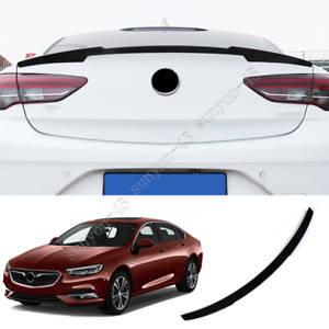 For Buick Regal 2018-2020 ABS Glossy Black Rear Door Tail Trunk Spoiler Wing Lip