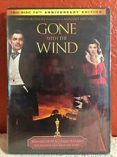 Gone With the Wind (DVD, 2009, 2-Disc Set, 70th Anniversary Edition) New