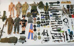 12 Inch GI Joe 21st Century Lanard Huge Lot Accessories, Weapons, Action Figures