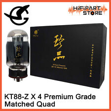 4pcs Shuguang 50 Years Treasure KT88-Z Matched Quad Premim Grade Valve Tube