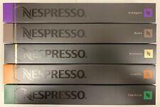 NEW Nestle Nespresso Variety Pack for OriginalLine, 50 Capsules - Dark & Medium