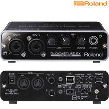 Roland UA-22 Duo-Capture EX USB Audio Interface Brand NEW l Authorized Dealer