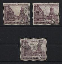 Berlin 58 Plattenfehler I, II und IV gestempelt (B05626)
