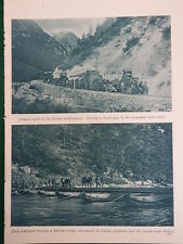 WW1 WAR ITALIAN CAMPAIGN ITALY ISONZO RIVER BODREZ (1 SHEET, BOTH SIDES)