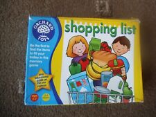 ORCHARD TOYS Fun Learning Game SHOPPING LIST Age 3+