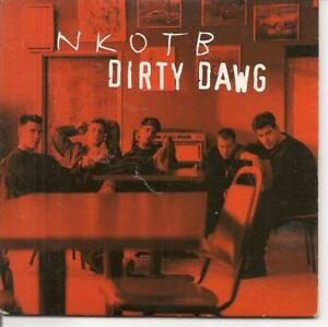 CD SINGLE 2 TITRES--NEW KIDS ON THE BLOCK--DIRTY DAWG--1994