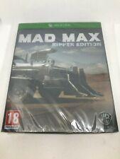 Mad Max Ripper Edition Steelbook XBONE European PAL System