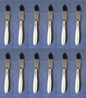 SET OF TWELVE - Wedgwood Stainless Flatware  SEVILLE Butter Servers NEW