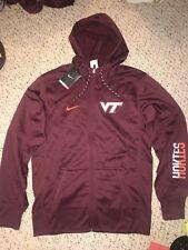 NWT Nike Virginia Tech Hokies Team Issued Full Zip Hoodie Sweatshirt *4XL*