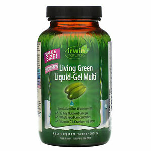 Women's Living Green Liquid-Gel Multi, 120 Liquid Soft-Gels