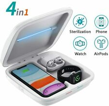UV Light Sterilizer Box Cell Phone Charger Disinfection Sanitizer Cleaner UVC