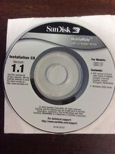 SanDisk MobileMate USB reader/Writer Mini Installation CD Ver 1.1