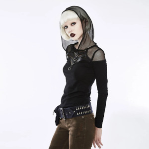 Punk Rave Military Steampunk Gothic Industrial Style Ammo Waist Bag Pocket Belt