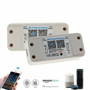 Smart Bluetooth WiFi Switch 10A IOS Android APP ON/OFF Timer LED Light Controlle