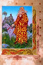CELTIC IRISH FANTASY ART PRINT BREAS.CÚ BREA 23x16 By Jim FitzPatrick