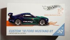 New ListingCustom 18 Ford Mustang Gt. Hot Wheels Id. Speed Graphics. 1:64 Diecast Model car